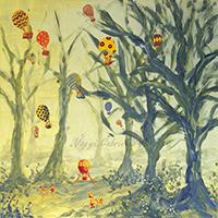 Alkonyban hőlégballonozó limimik