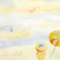 Merengés a tengerparton