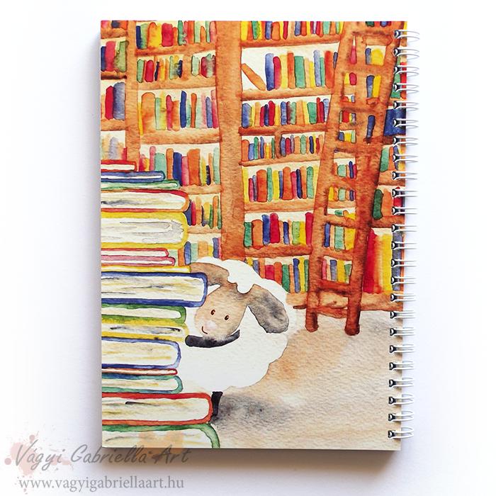 Bárányok a könyvtárban
